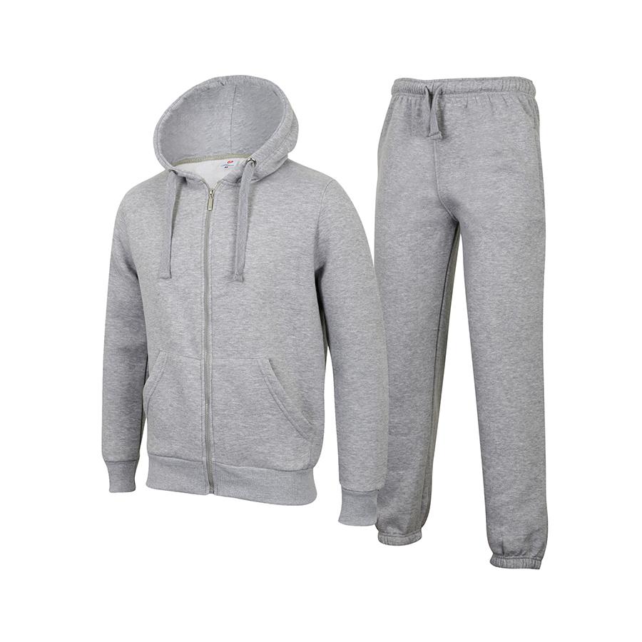 Grey zip up hoodie mens